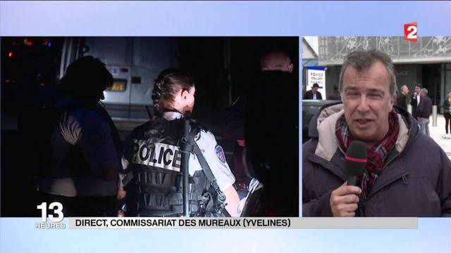 Couple de policiers assassiné : le commissariat des Mureaux en deuil