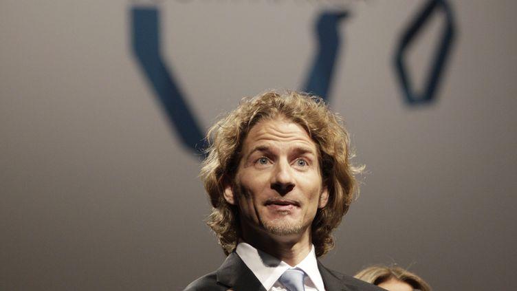 Gwendal Peizerat, champion olympique de danse sur glace. (ROGAN WARD / AFP)
