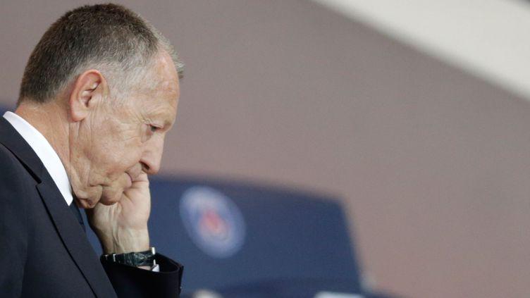 Jean-Michel Aulas, le président de l'Olympique Lyonnais. (KENZO TRIBOUILLARD / AFP)