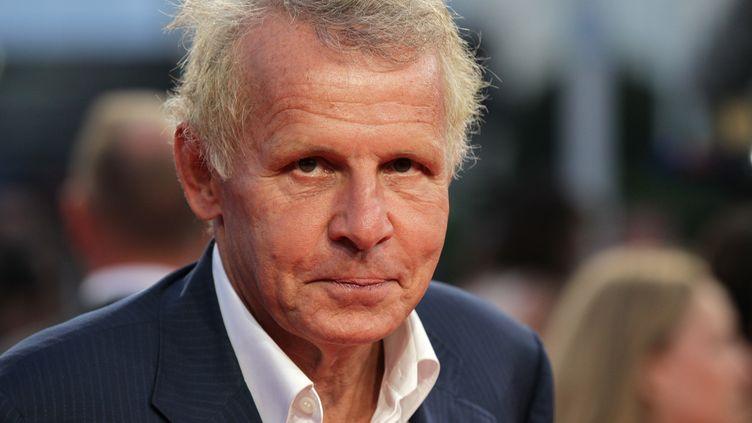 Le journaliste Patrick Poivre d'Arvor au festival du film américain de Deauville (Calvados), le 12 septembre 2014. (CHARLY TRIBALLEAU / AFP)