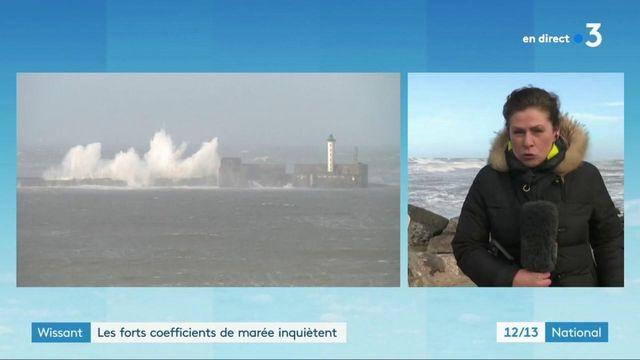 Pas-de-Calais : les forts coefficients de marée inquiètent à Wissant