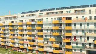Habitat coopératif à Vienne (Autriche). (FRANCE 2)