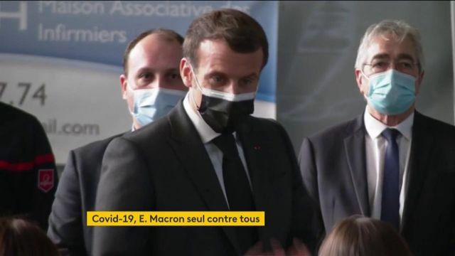 Covid-19 : Emmanuel Macron maintient sa ligne