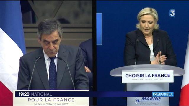 Présidentielle : quand Marine Le Pen plagie un discours de Fillon