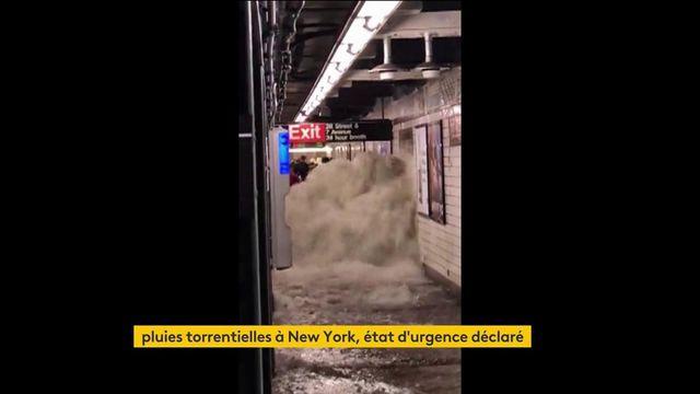 Etats-Unis : le nord-est du pays frappé par des pluies diluviennes causées par l'ouragan Ida