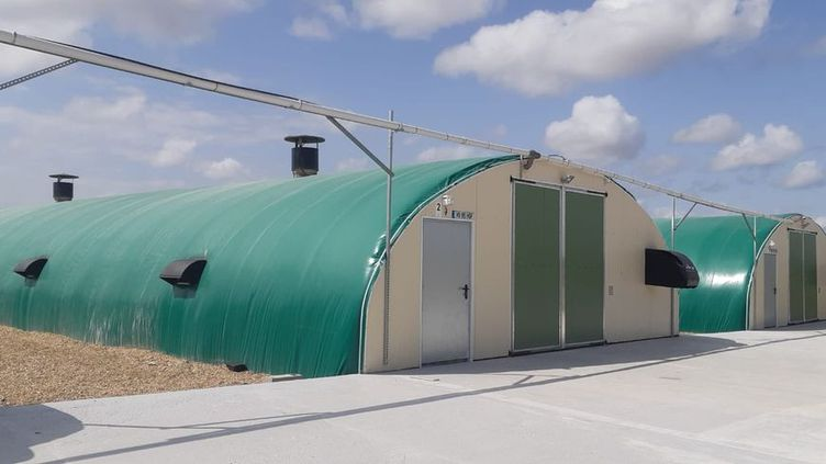 L'installation de l'agriculteur accueille27 000 canards. (MARC BERTRAND / RADIORANCE)