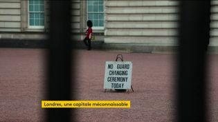 Londresà l'heure du confinement (FRANCEINFO)