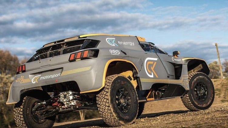 La GCK e-Blast 1 du team GCK Motorsport engagé sur le Dakar 2021.