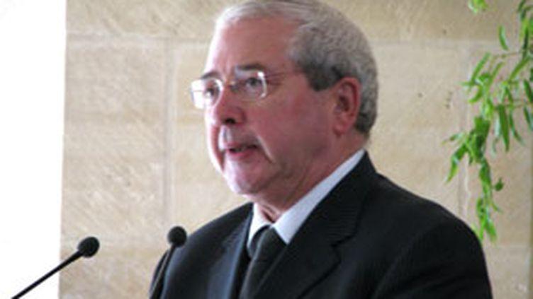 Jean-Paul Huchon à l'inauguration du Collège des Bernardins (04/08/2008) (Photo JH)