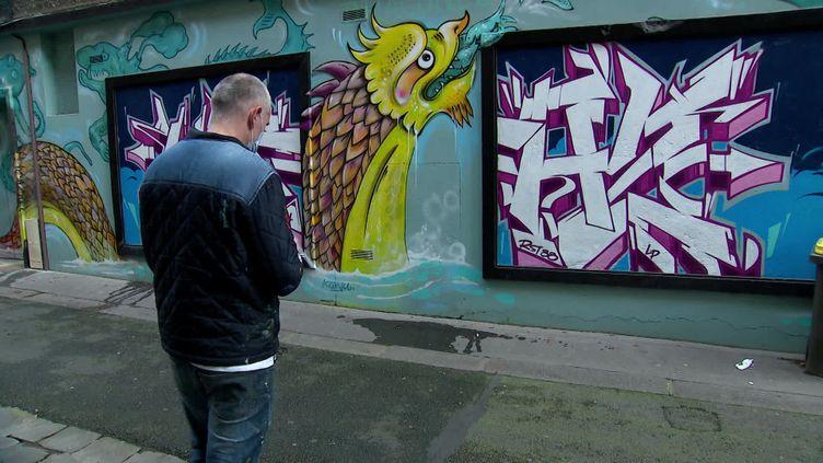 L'application ST'ART recense 4500 oeuvres de street art. (France Télévisions)