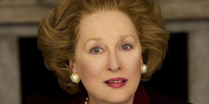 "Meryl Streep dans la peau de ""la Dame de fer""  (Alex Bailey/Pathe Produc/AP/SIPA)"