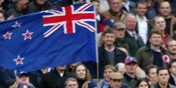 Le drapeau de la Nouvelle-Zélande (ODD ANDERSEN / AFP)