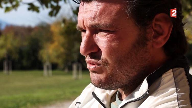 Anthony Martrette, dans l'émission Stade 2, parlait pour la première de dopage rugby. (FRANCE 2 / STADE 2)
