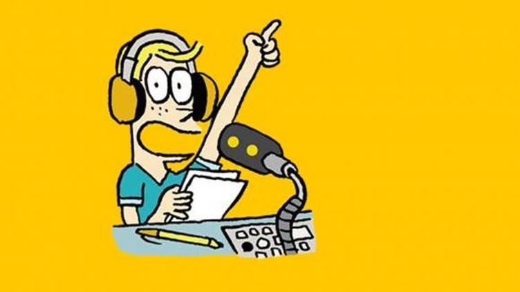 """Le nouveau podcast """"Salut l'info !"""" de franceinfo raconte l'actualité de la semaine aux 7-11 ans. (EL DON GUILLERMO / FRANCEINFO)"""