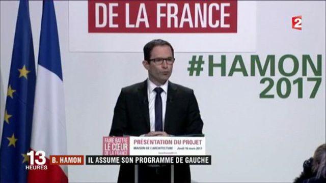 Présidentielle 2017 : Benoît Hamon dévoile son programme de gauche