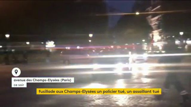 VIDEO. Attentat contre des policiers : de nombreuses encore confinées dans les commerces des Champs-Elysées