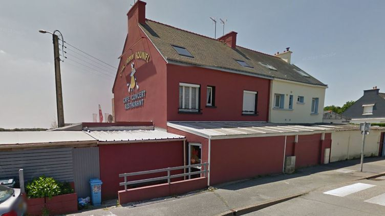 Le bar Chez Mamm Kounifl, àLocmiquélic (Morbihan). (FTVI / GOOGLE STREET VIEW)