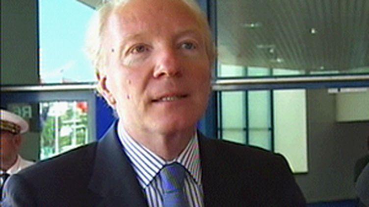 Brice Hortefeux, ministre de l'Immigration. (© F3)