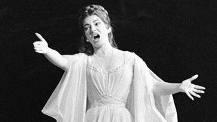 "Maria Callas chante ""Norma"" de Bellini, à Paris, le 23 mai 1964.  (AFP)"