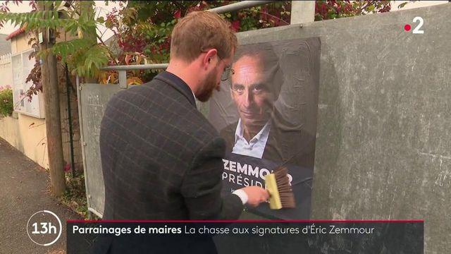 Présidentielle 2022 : la chasse aux parrainages de maires d'Éric Zemmour