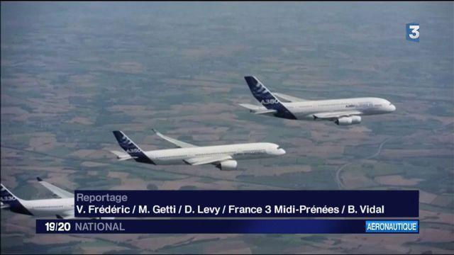 Airbus : le constructeur enregistre une commande record