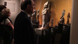 Outre les hommes, les femmes et les pharaons, l'univers égyptien est peuplé de nombreuses divinités. (ELODIE DROUARD / FTVI)