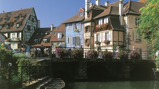 Le quartier de la Petite Venise, à Colmar (Haut-Rhin), en 2008. (RICHARD DECKER / PHOTONONSTOP)