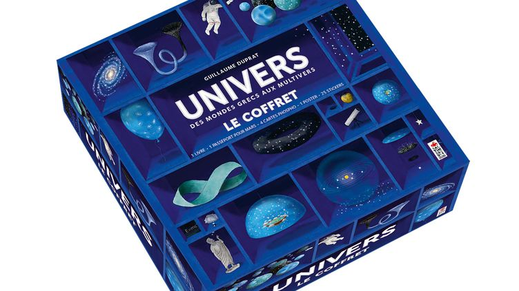 """""""Univers, des mondes grecs aux multivers"""", de G. Duprat (SALTIMBANQUE EDITIONS)"""