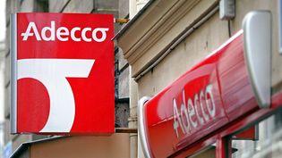 Le groupe suisse Adecco, numéro un mondial du travail temporaire, emploie 6 300 personnes en France. (FRANCOIS GUILLOT / AFP)