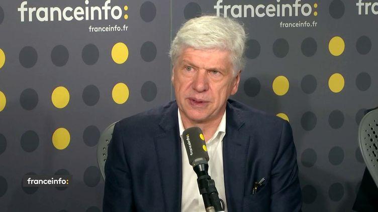 Arnaud Vaissié, président international des chambres de commerce françaises à l'étranger,était l'invité de franceinfo mercredi 16 janvier. (FRANCEINFO / RADIOFRANCE)