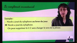 Katia Nugnes anime une chaîne Youtube consacrée à la grammaire (France 3 Franche-Comté)