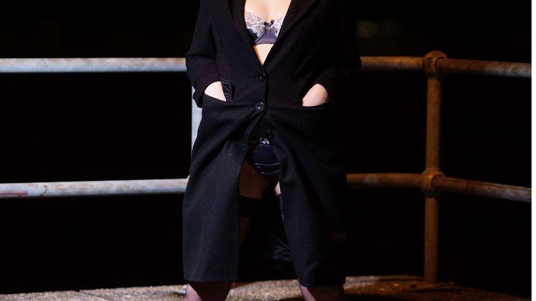La dominatrice Charlotte Rose, le 14 décembre 2014, à Londres. (SIPA / REX)