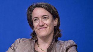 Delphine d'Amarzit, le 24 juin 2013, aux Assises européennes des PME au ministère de l'Economie, à Paris. (MAXPPP)