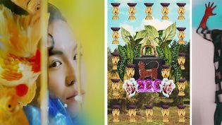 Chiron Duong, Lucie Khahoutian et Gabriel Dia (de gauche à droite) lauréats 2020 du prix Picto de la Photographie de Mode (Chiron Duong, Lucie Khahoutian et Gabriel Dia (de gauche à droite))