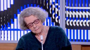 Monique Chemillier-Gendreau (FRANCEINFO)