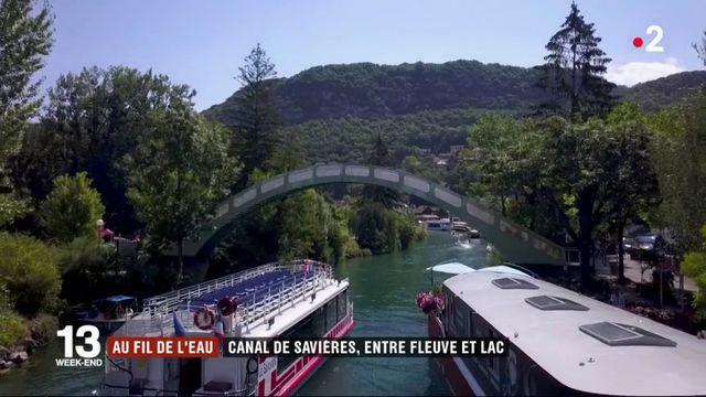 Au fil de l'eau : canal de Savières, entre fleuve et lac