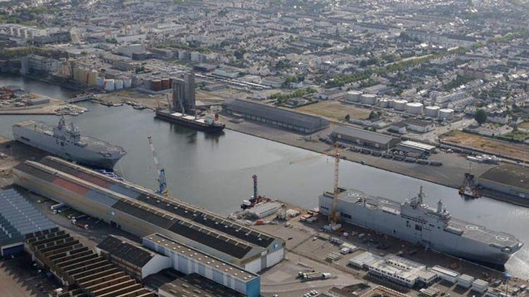 (La vente des deux Mistral à l'Égypte va rapporter 950 millions d'euros © REUTERS / Stéphane Mahe)