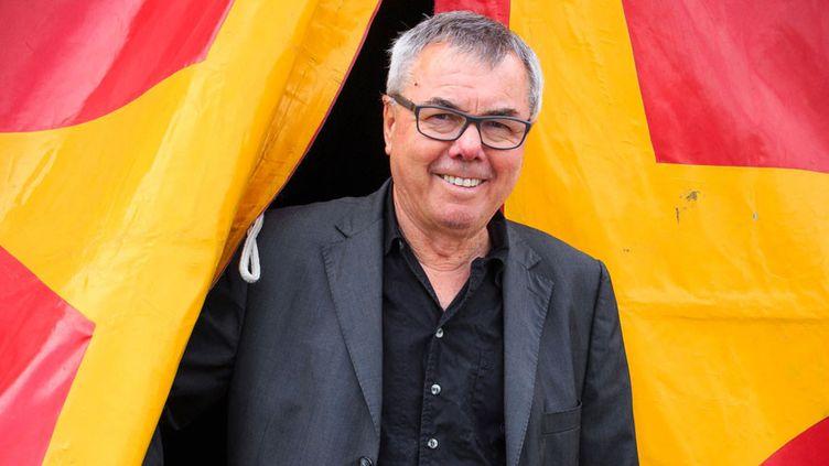 Christian Mousset, le fondateur et directeur de Musiques Métisses, à Angoulême (19 mai 2015)  (Pierre Duffour / AFP)