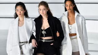 Défilé Chanel pap automne-hiver 2020-21 lors de la Paris Fashion Week, le 3 mars 2020 (CHRISTOPHE ARCHAMBAULT / AFP)