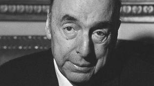 Pablo Neruda à Paris en octobre 1971, alors qu'il était ambassadeur du Chili en France.  (AFP)