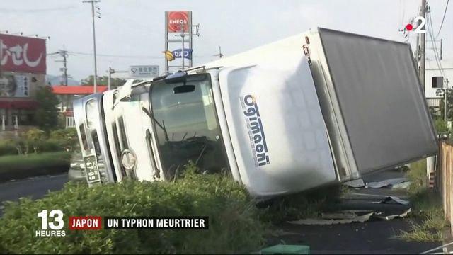 Japon : un typhon meurtrier