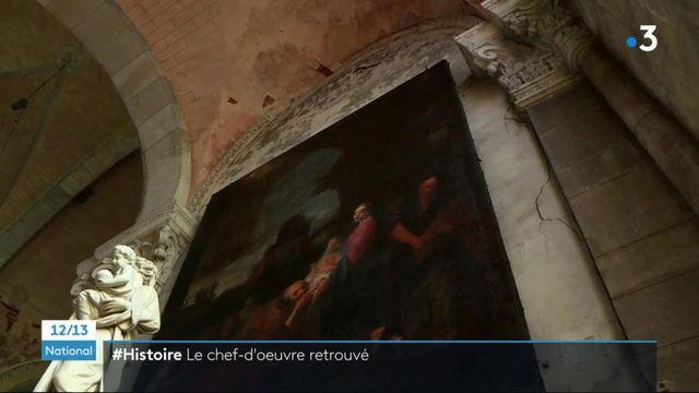 Art : un tableau de Notre Dame de Paris, perdu à la révolution, retrouvé dans une église du Rhône