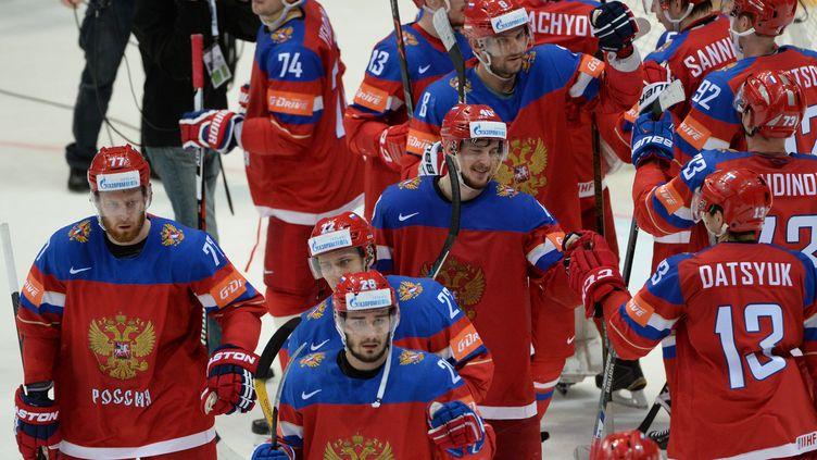 La joie des hockeyeurs russes (VLADIMIR FEDORENKO / SPUTNIK)