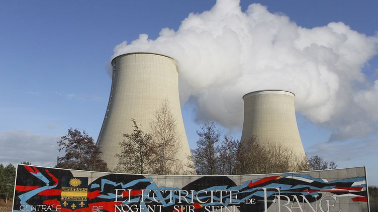 La centrale nucléaire de Nogent-sur-Seine (Aube), le 5 décembre 2011. (FRANCOIS NASCIMBENI / AFP)
