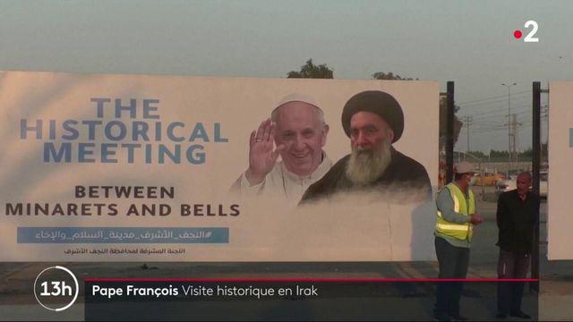 Irak : visite historique du pape François