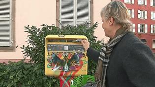 Le street art se découvre sur les boites aux letrres de Strasbourg grâce à dix artistes sélectionnés par la Poste  (France 3 / Culturebox )