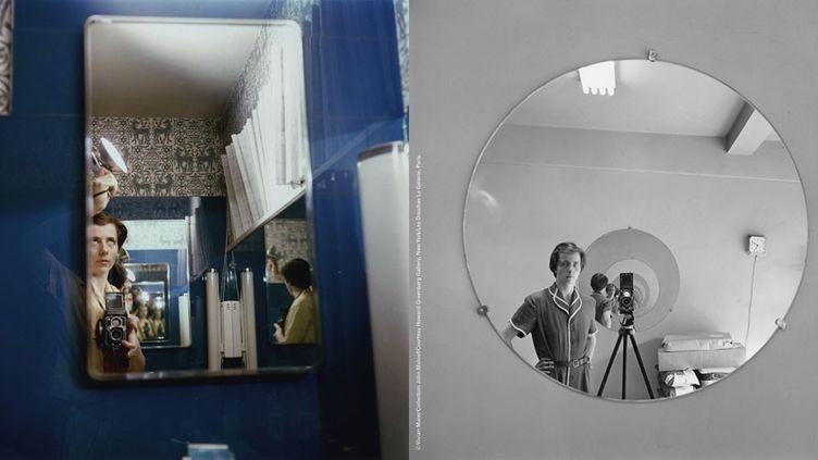 Autoportraits de Vivian Maier  (Vivian Maier / Collection John Maloof Courtesy Howard Greenberg Gallery, New York, Les Douches La Galerie, Paris)