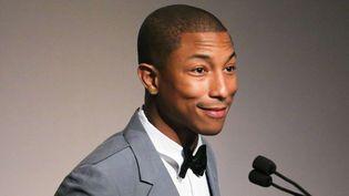 Pharrell Williams, star musicale de 2013 sera-t-il aussi l'homme de l'année 2014 ? (Ici en juin 2013 à New York)  (BFA/SIPA USA)