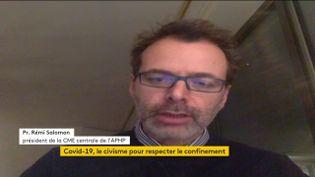 Le professeur Rémi Salomon (FRANCEINFO)