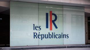 Le siège du parti Les Républicains, le 9 janvier 2021 à Paris. (MAGALI COHEN / HANS LUCAS / AFP)
